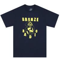 Bronze 56k Bronze FM Tee  Navy  ブロンズ  Tシャツ BZ21