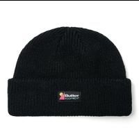 BUTTER GOODS Equipment Beanie バターグッズ ニットキャップ ニット帽 ショートビーニー/ BG59 BLACK