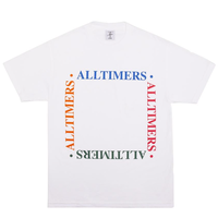 ALLTIMERS BOX EM OUT TEE オールタイマーズ メンズ Tシャツ  WHITE ATS34