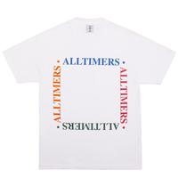 ALLTIMERS BOX EM OUT TEE オールタイマーズ メンズ Tシャツ  WHITE ATS34