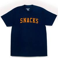QUARTERSNACKS VARSITY TEE  クウォータースナックス 半袖Tシャツ  QS21 NAVY