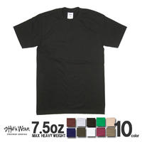SHAKA WEAR 無地Tシャツ 7.5oz スーパーヘビーウェイト  MAX HEAVY WEIGHT S/S TEE メンズ 厚地 クルーネック 半袖tシャツ SW10