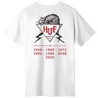 HUF  Year Of The Rat DBC S/S TEE WHITE/  huf180
