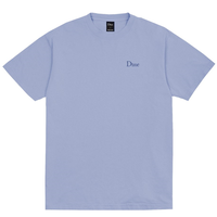 Dime Classic Embroidered T-Shirt ダイム メンズ Tシャツ クラッシク ロゴ刺繍 Dime Mtl LIGHT BLUE
