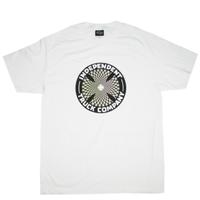 INDEPENDENT  Pin Wheel Cross Regular S/S T SHIRTS  インディペンデント Tシャツ メンズ  半袖Tシャツ / IND25