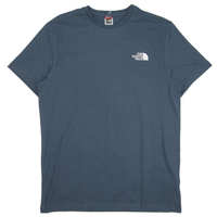 THE NORTH FACE EUモデル S/S SIMPLE DOME TEE ノースフェイス Tシャツ NF0A2TX5 メンズ 半袖Tシャツ / TNF68 BlueWingTeal