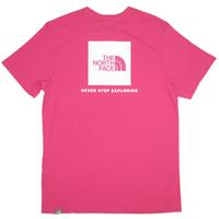 THE NORTH FACE EUモデル  S/S RED BOX TEE ノースフェイス Tシャツ NF0A2TX2 メンズ 半袖Tシャツ  / TNF64 PINK
