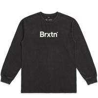 BRIXTON ×  LUCAS BEAUFORT / CROWD II LS TEE ブリクストン 長袖 ロンT  ルーカス・ビューフォート - / 02770 BLACK