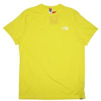 THE NORTH FACE EUモデル S/S SIMPLE DOME TEE ノースフェイス Tシャツ NF0A2TX5 メンズ 半袖Tシャツ / TNF68 LEMON