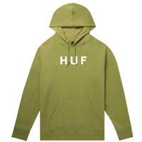 HUF ESSENTIALS OG LOGO P/O HOODIE DriedHerb  /HUF94