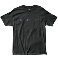 THE QUIET LIFE RAINBOW TEE QL27 BLACK