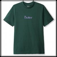 BUTTER GOODS CLASSIC LOGO TEE メンズ バターグッズ FOREST GREEN BG23