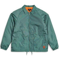 BRIXTON CLAXTON COLLAR SHERPA JACKET MEN'S/BRIX348 EMERALD