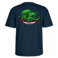 POWELL PERALTA Oval Dragon T-shirt メンズ Tシャツ パウエル  PW12