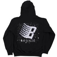 BRONZE  56K ブロンズ B LOGO SNOW HOODY プルオーバー パーカー BLACK ブラック BZ12