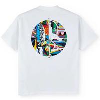 POLAR SKATE CO Memory Palace Fill Logo Tee ポーラースケートカンパニーメンズ 半袖 tシャツ WHITE /PL18