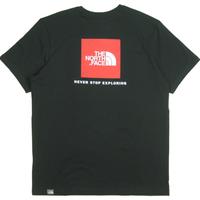 THE NORTH FACE EUモデル  S/S RED BOX TEE ノースフェイス Tシャツ NF0A2TX2 メンズ 半袖Tシャツ  / TNF64 TnfBlack