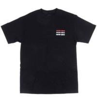 KNOW WAVE Up By Three Embroidered TEE ノウウェーブ 半袖Tシャツ メンズ トップス BLACK Mサイズ/ KW10