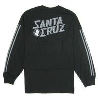 """SANTA CRUZ""""HAND STAMP L/S TEE サンタクルーズ SC17 BLK"""