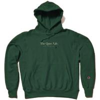THE QUIET LIFE Serif Champ Reverse Weave Hood ザ クワイエットライフ リバースウィーブ / QL35 HunterGreen
