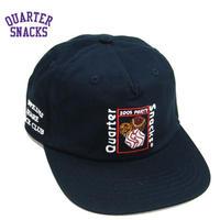 QUARTERSNACKS PARTY CAP クウォータースナックス キャップ スケーター ストリート メンズ CAP 帽子 スナップバック / QS17