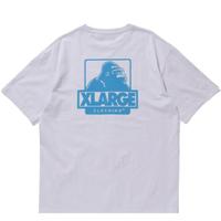 XLARGE S/S TEE FLOCKING OG エクストララージ Tシャツ メンズ ロゴ 半袖 Tシャツ / XL28 WHITE