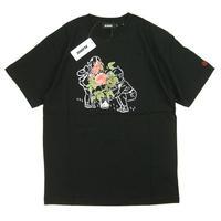 XLARGE S/S TEE ROSE メンズ 半袖Tシャツ BLACK  XL52