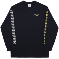 ALLTIMERS COUNT IT UP L/S TEE オールタイマーズ ロンT メンズ NAVY  ATS38