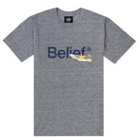 BELIEF NYC ビリーフ Surf & Rescue Tee - Athletic Heather