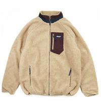 BELIEF NYC Arctic Zip Fleece ビリーフ フリースジャケット  メンズ アウター / BL16 CamelMaroon
