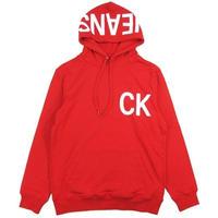 Calvin Klein Jeans カルバンクラインジーンズ パーカー STATEMENT LOGO HOODIE メンズスウェット プルオーバー/CK101