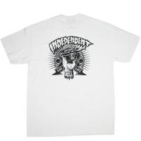 INDEPENDENT Shredded Regular S/S T SHIRTS  インディペンデント Tシャツ  メンズ  半袖tシャツ  / IND24 WHITE