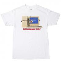 BRONZE 56K  FIREWALL TEE ブロンズ 56k  Tシャツ WHITE