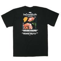 HUF NEVER YOURS S/S TEE  ハフ メンズ 半袖 Tシャツ BLACK HUF207