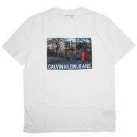 CALVIN KLEIN JEANS MEN'S  HOOPS MESH CREWNECK TEE カルバンクラインジーンズ メンズ 半袖 Tシャツ / CK117