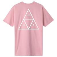 HUF ESSENTIALS TRIPLE TRIANGLE TEEハフ 半袖Tシャツ TS00509 メンズ / HUF61 CoralPink
