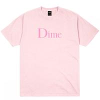 Dime Classic Logo T-Shirt ダイム メンズ Tシャツ クラッシク ロゴT Dime Mtl LIGHT PINK