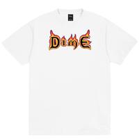 Dime Mana T-Shirt  ダイム メンズ Tシャツ Dime Mtl TEE WHITE