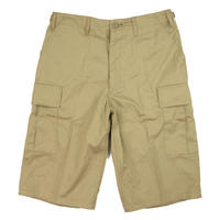 ROTHCO BDU Combat Shorts  膝下 ロスコ  ロング カーゴショーツ メンズ ボトムス KHAKI ROTH11