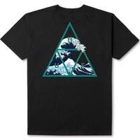 HUF ハフ Tシャツ HIGH TIDE TRIANGLE S/S TEE TS00370 メンズ トップス 半袖tシャツ HUF132