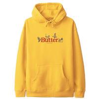 BUTTER GOODS  Monkey Pullover Hood バターグッズ パーカー メンズ トップス プルオーバーフード GOLD BG36