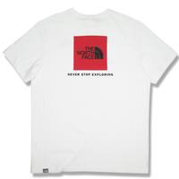 THE NORTH FACE EUモデル  S/S RED BOX TEE ノースフェイス Tシャツ NF0A2TX2 メンズ 半袖Tシャツ  / TNF64 TnfWhite