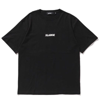 XLARGE S/S TEE EMBROIDERY STANDARD LOGO メンズ  XL13 BLACK
