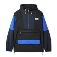 BUTTER GOODS Equipment Pullover Jacket バターグッズ アウター  メンズ ナイロン アノラックジャケット  BlackNavyRoyal/ BG39