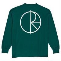 POLAR SKATE CO  Stroke Logo Longsleeve  ロンT ポーラースケートカンパニーメンズ 長袖 tシャツ /PL11 DarkGreen