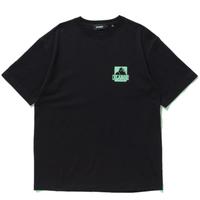 XLARGE S/S TEE FLOCKING OG エクストララージ Tシャツ  メンズ ロゴ 半袖 Tシャツ / XL28 BLACK