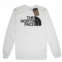 THE NORTH FACE L/S HALF DOME TEE ノースフェイス ロンT メンズ 長袖Tシャツ NF0A4AAK アウトドア TEE / TNF43 WHITE
