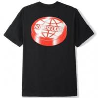 BUTTER GOODS Disk Logo Tee  / バターグッズ Tシャツ Black BG16