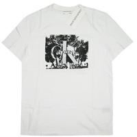 Calvin Klein  MONOGRAM PALM CREWNECK TEE 41VM829 メンズ カルバンクラインジーンズ Tシャツ 半袖 tシャツ / CK120