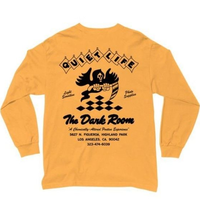 THE QUIET LIFE DARK ROOM Long Sleeve Tee QL31 GOLD